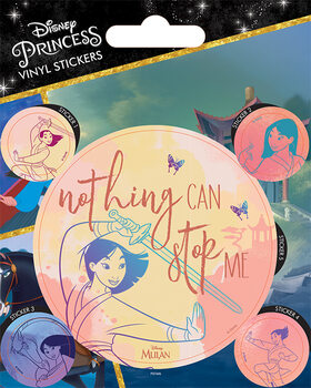 Mulan - Nothing Can Stop Me Klistremerke