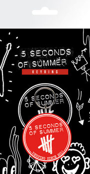 Kľúčenka 5 Seconds of Summer - Derping