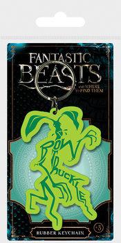 Kľúčenka Fantastické zvery a ich výskyt - Bowtruckle