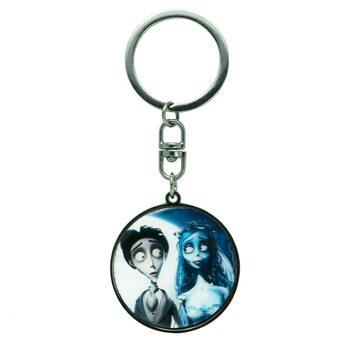 Kľúčenka Mrtva nevesta Tima Burtona - Victor&Emily