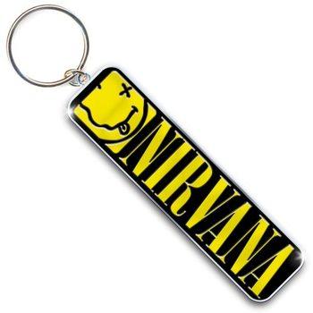 Kľúčenka Nirvana - Smiley & Logo