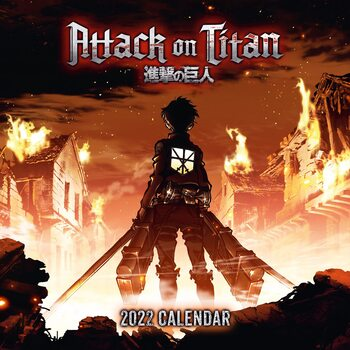 Attack on Titan Koledar 2022