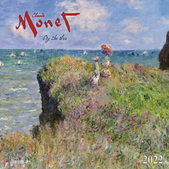 Claude Monet - By the Sea Koledar 2022