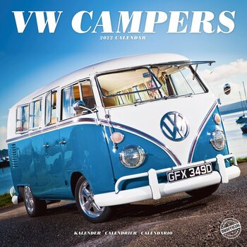 VW Camper Vans Koledar 2022