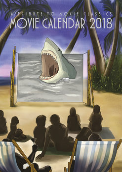 Movie Calendar 2018 - A Tribute To Movie Classics Koledar 2018