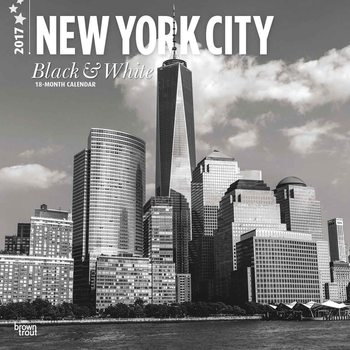 New York - Black & White Koledar