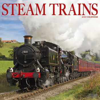Steam Trains Koledar 2021