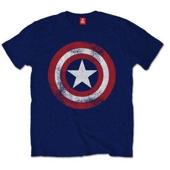 Koszulka z krótkim rękawem Captain America - Distress Shield