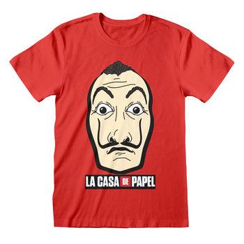 Koszulka z krótkim rękawem Dom z papieru (La Casa De Papel) - Mask And Logo