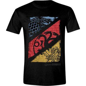 Koszulka z krótkim rękawem Gra o tron - Diagonal Sigils