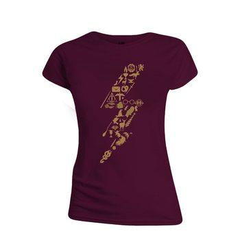 Koszulka z krótkim rękawem Harry Potter - Lightning Icons