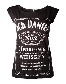 Koszulka z krótkim rękawem  Jack Daniel's - Black With Zipper