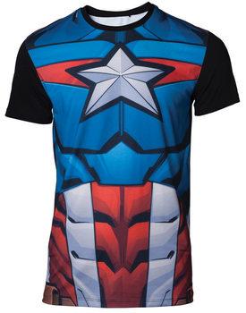 Koszulka z krótkim rękawem Marvel - Captain America