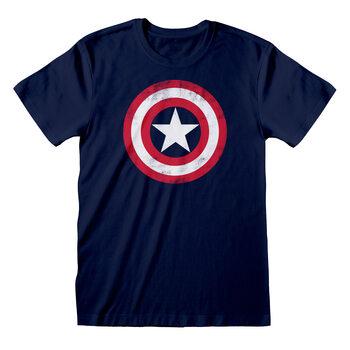 Koszulka z krótkim rękawem Marvel Comic - Captain America Shield