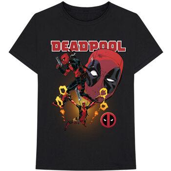 Koszulka z krótkim rękawem Marvel - Deadpool Collage 2