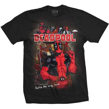 Koszulka z krótkim rękawem Marvel - Deadpool Homage