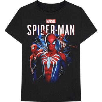 Koszulka z krótkim rękawem Marvel - Spiderman Montage