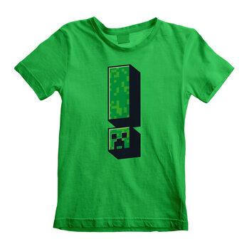 Koszulka z krótkim rękawem Minecraft - Creeper Exclamation