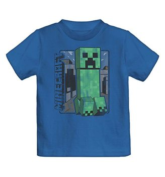 Koszulka z krótkim rękawem Minecraft - Creeper