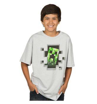 Koszulka z krótkim rękawem Minecraft - Creeper Inside