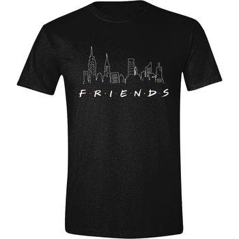 Koszulka z krótkim rękawem Przyjaciele - Logo and Skyline