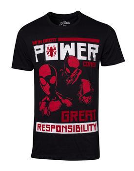 Koszulka z krótkim rękawem Spiderman - Power Vs Responsibility
