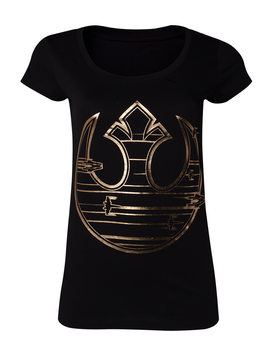 Koszulka z krótkim rękawem Star Wars The Last Jedi - Gold Rebel Logo