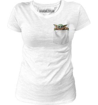 Koszulka z krótkim rękawem Star Wars: The Mandalorian - Baby Yoda Pocket