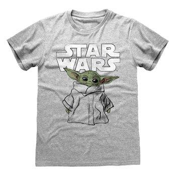Koszulka z krótkim rękawem Star Wars: The Mandalorian - Child Sketch