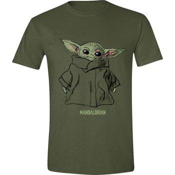 Koszulka z krótkim rękawem Star Wars: The Mandalorian - The Child Sketch