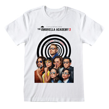 Koszulka z krótkim rękawem Umbrella Academy - Season 2 Poster
