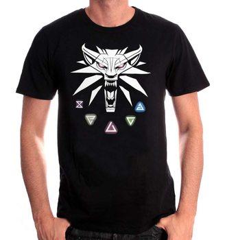 Koszulka z krótkim rękawem Wiedźmin (The Witcher) - Signs of the Witcher