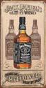 JACK DANIEL'S  CHARCOAL Kovinski znak