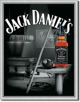 JACK DANIEL'S  POOL HALL Kovinski znak