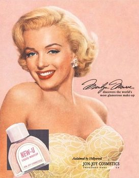 Marilyn Monroe New-U Kovinski znak