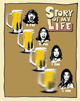 SOML - beer goggles Kovinski znak