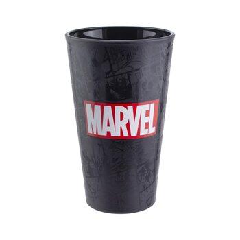Steklenica Marvel - Logo