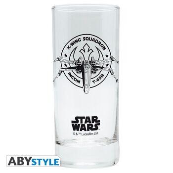 Steklenica Star Wars - X-wing