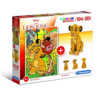 Puzzle Król Lew