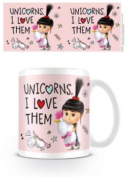 Grusomme mig 3 - Despicable Me - Unicorns I Love them Krus