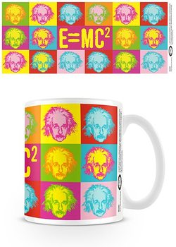 Albert Einstein - Pop art Kubek