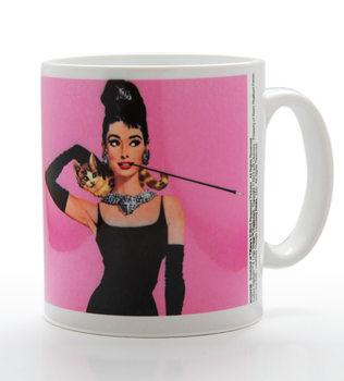 Audrey Hepburn - Pink Kubek
