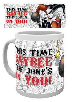 Batman Comics - Harley Quinn Jokes On You Kubek