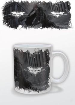 Batman: Mroczny rycerz powstaje - White Logo Kubek
