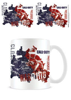 Kubek Call of Duty: Black Ops Cold War - Warning