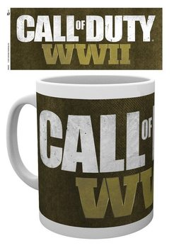 Call Of Duty WWII - Logo Kubek