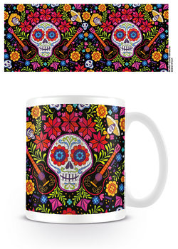 Coco - Embroidered Skull Kubek