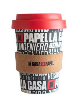Eko kubek Dom z papieru (La Casa De Papel)