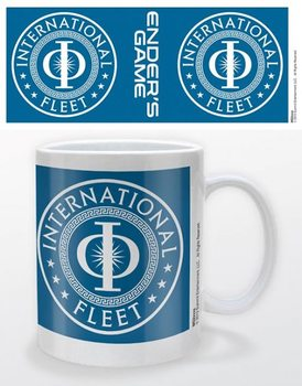 Ender's game - international fleet Kubek
