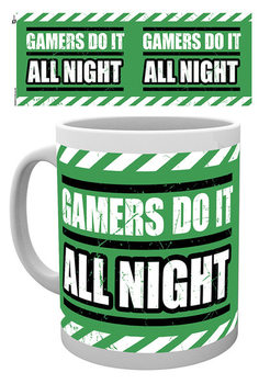 Gaming - All Night Kubek
